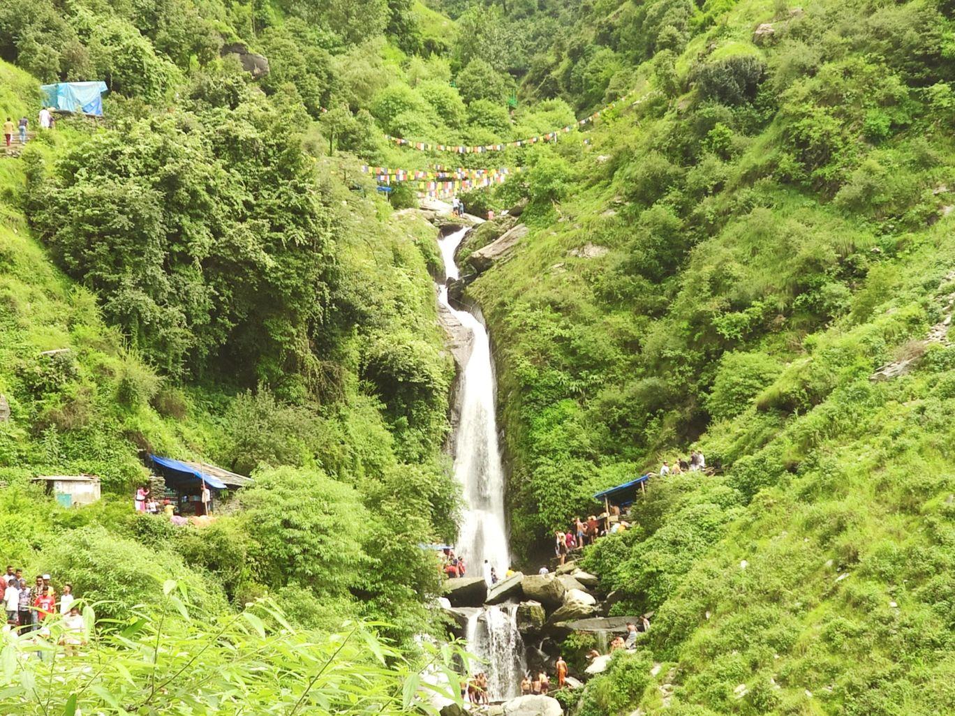 Photo of Bhagsu Nag Water Fall By Priya's Travel Story