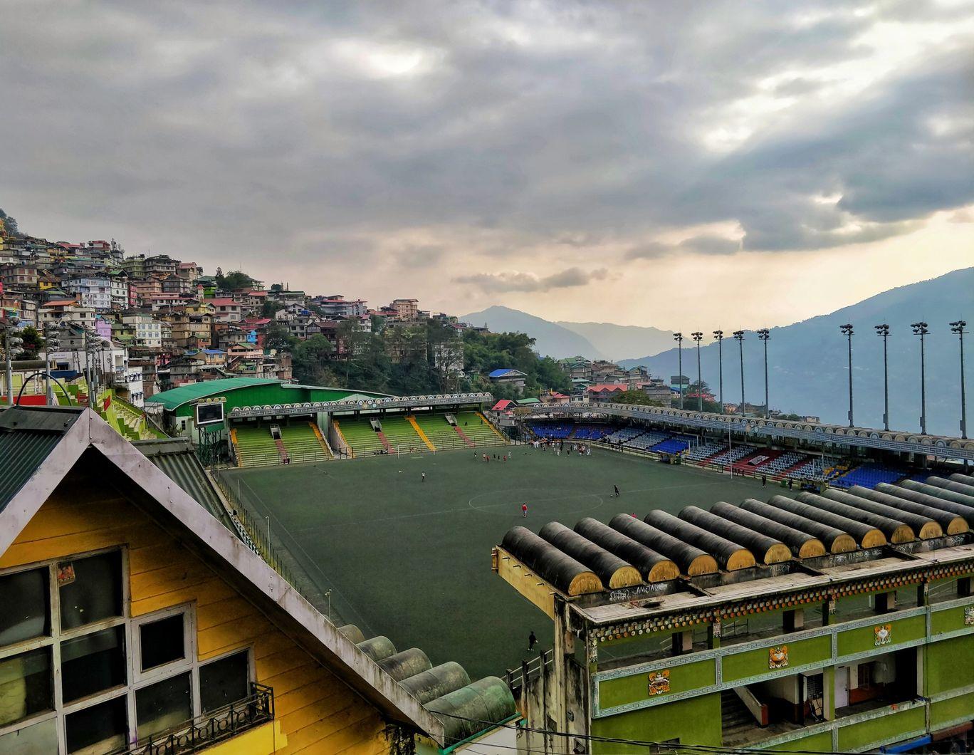Photo of Paljor Stadium Road By Prasad Nakhawa