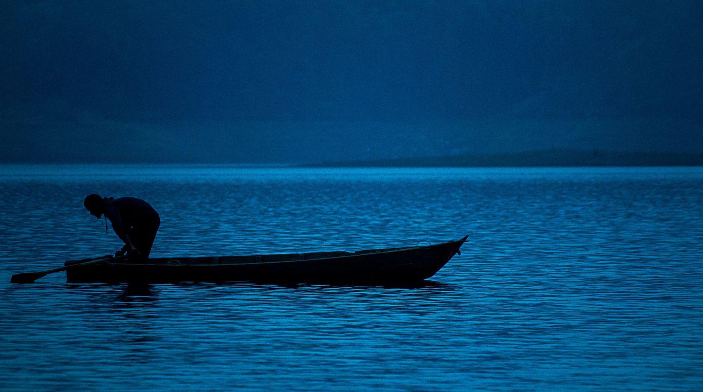 Photo of Pangong Tso By Marsha Das
