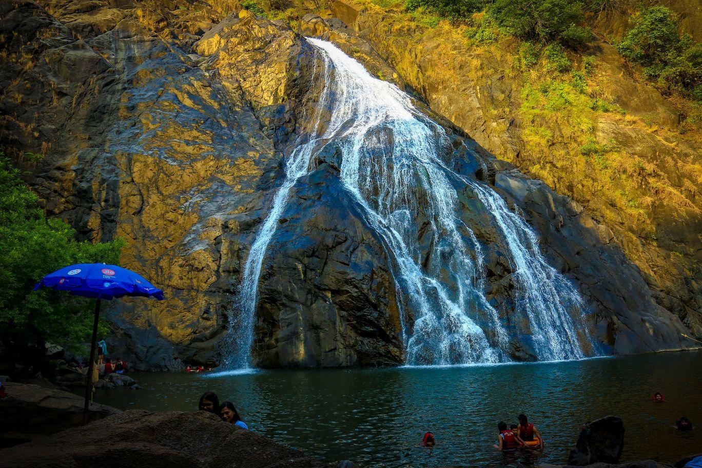 Photo of Dudhsagar Falls By Mohammed Sami