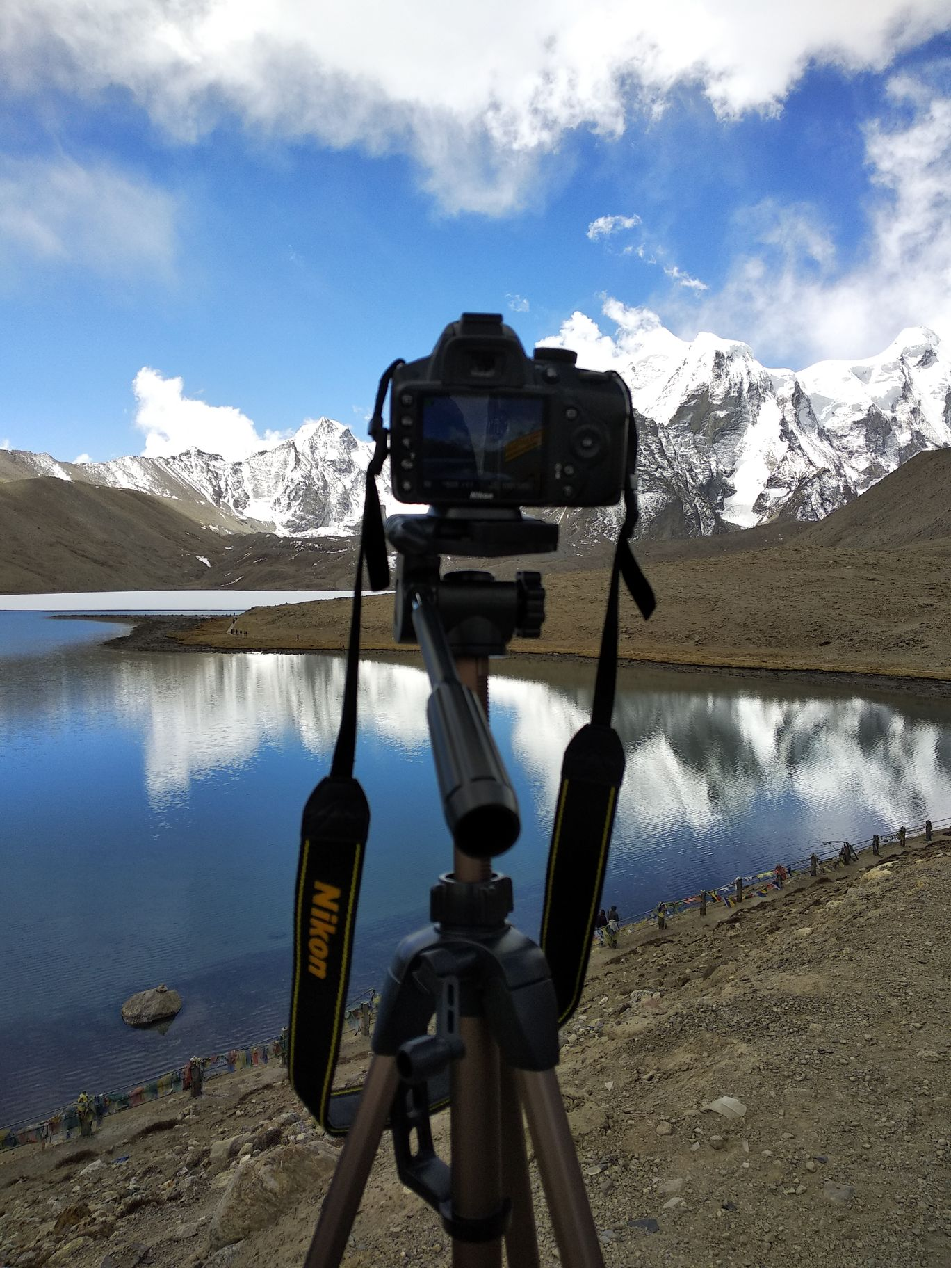 Photo of Gurudongmar Lake By Sandeep Kumar Singh