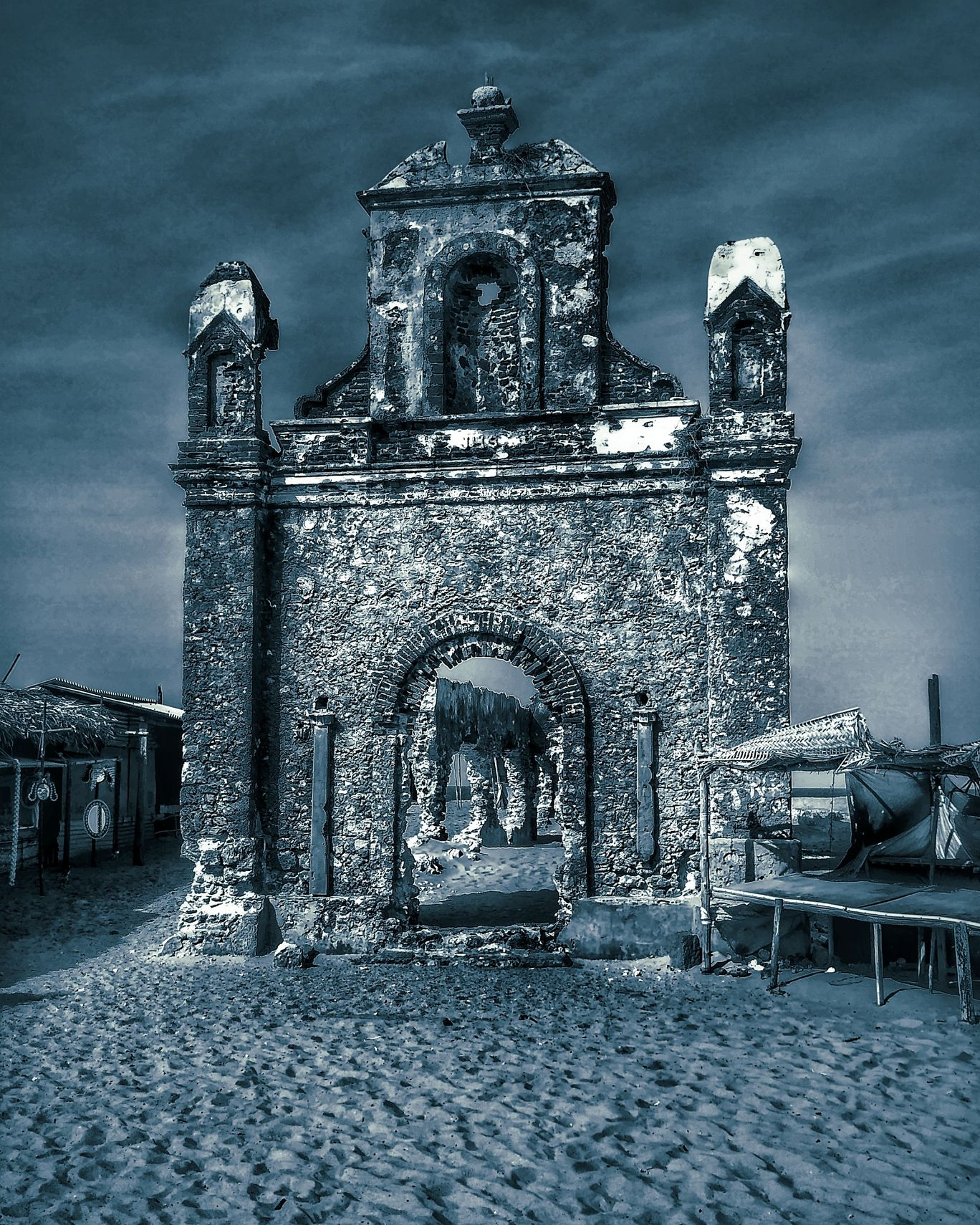 Photo of Dhanushkodi Old Church By suvojit purkait