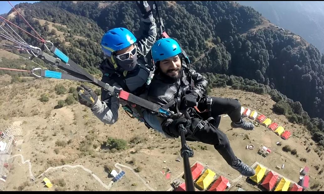 Photo of Bir Billing Paragliding By Vikram V. S. Chaudhary