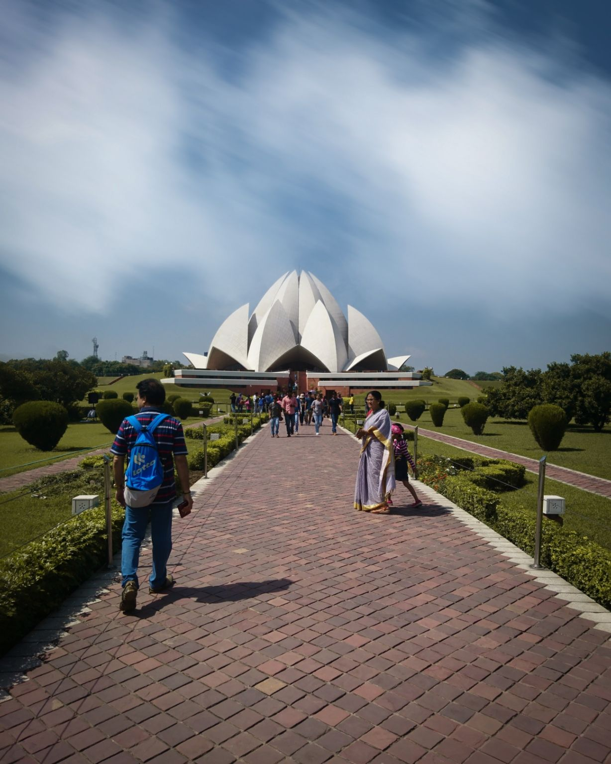 Photo of Lotus Temple By sachin chauhan