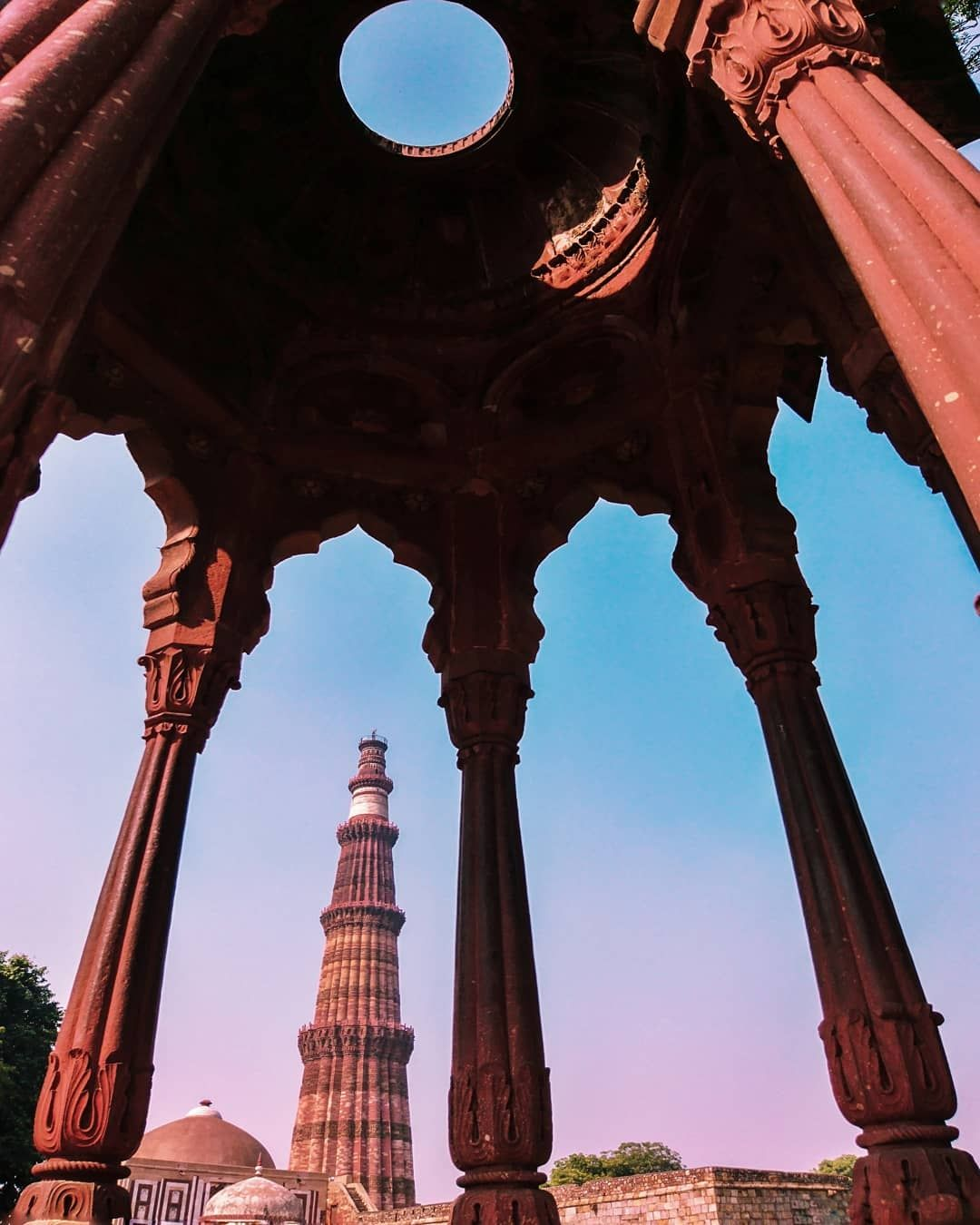Photo of Qutub Minar By sachin chauhan