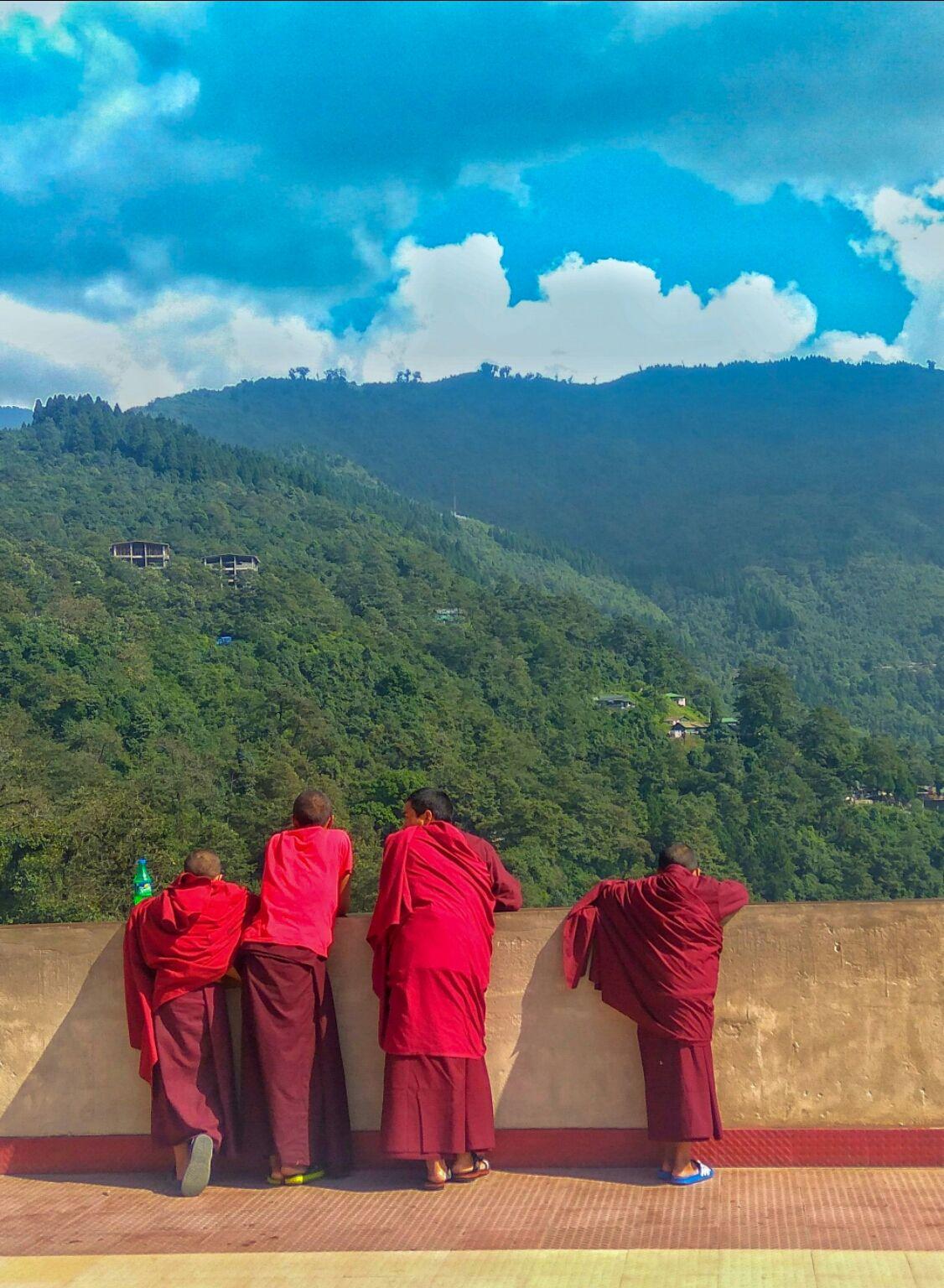Photo of Rumtek Monastery By Abhinav Dev