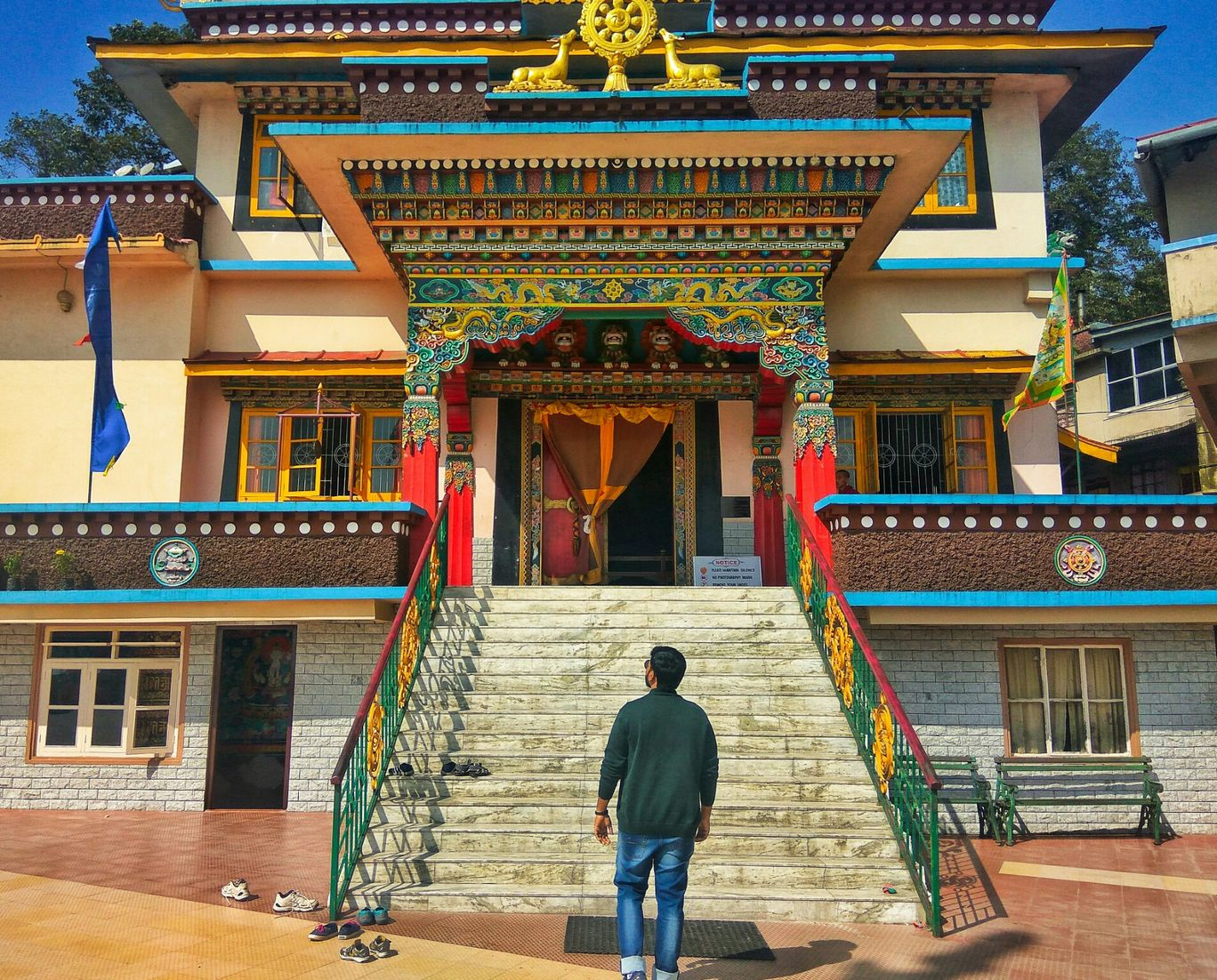 Photo of Rumtek Monastery By Abhinav Dev