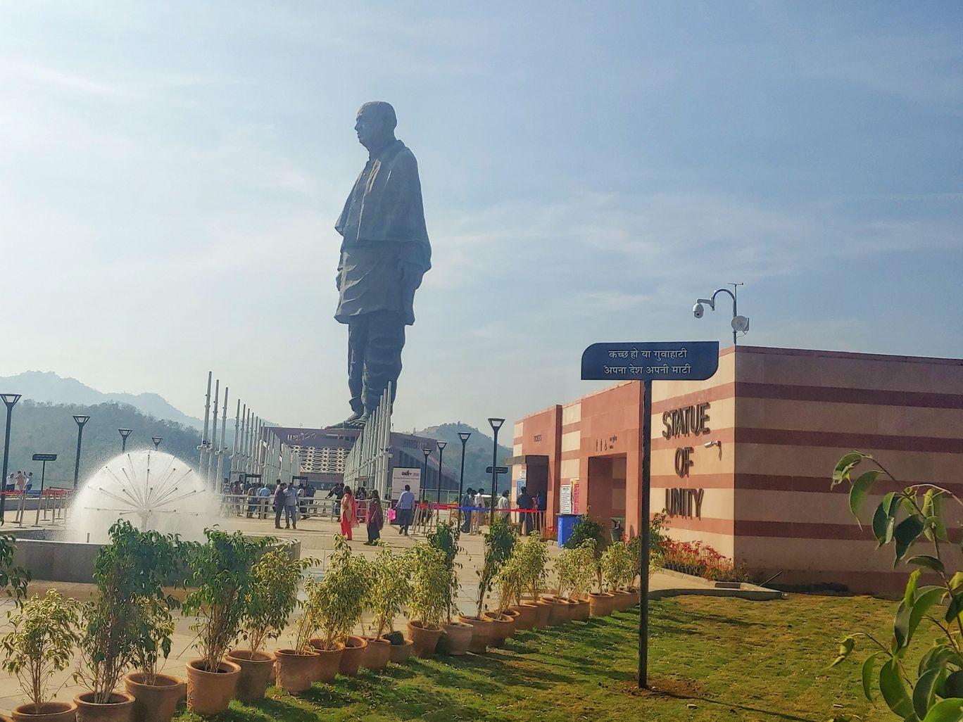 Photo of Statue of Unity By Naman Jain