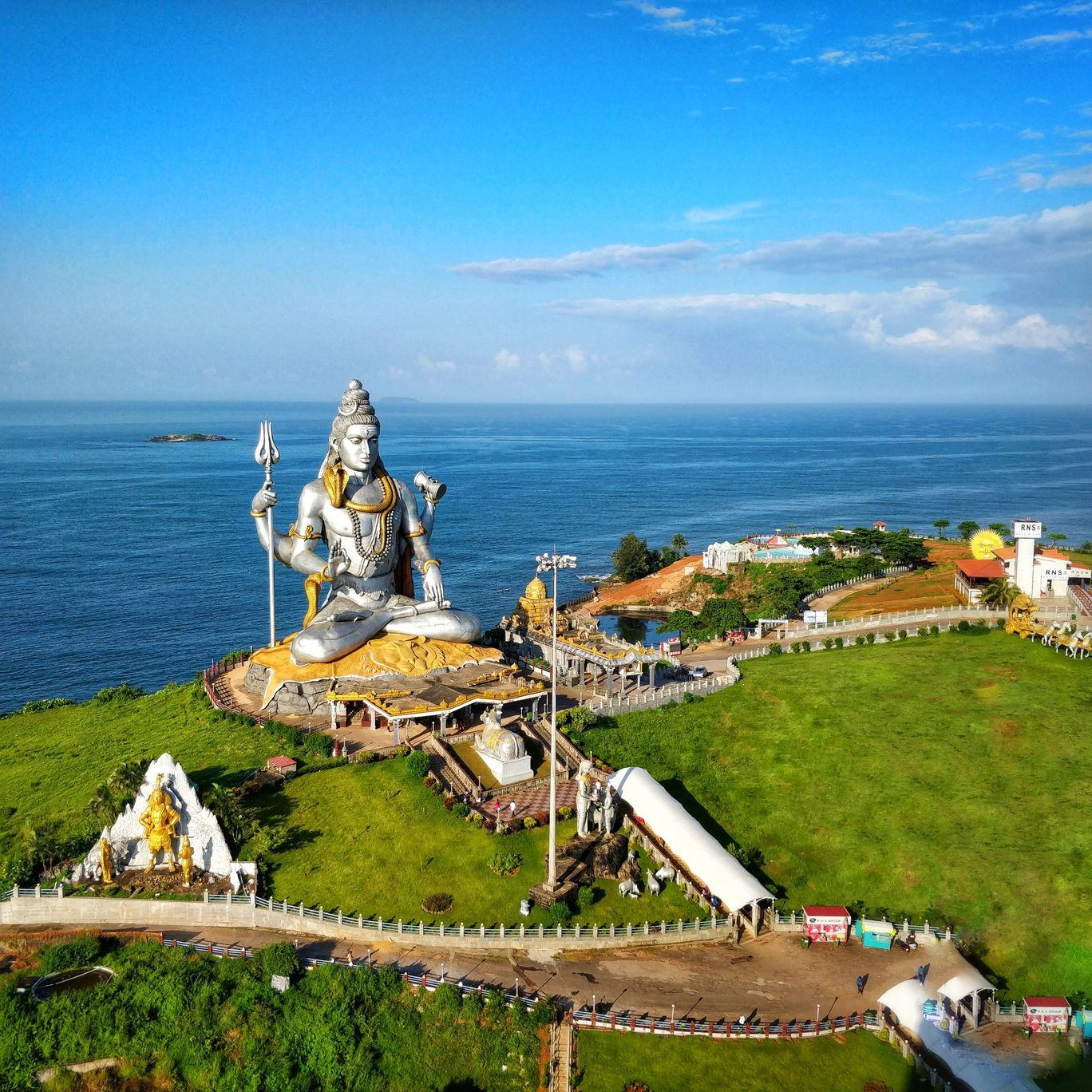 Photo of Murdeshwar By ChandraSekhar Varma