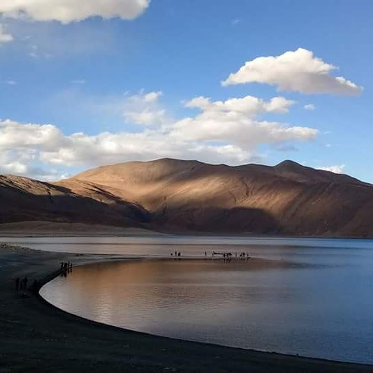 Photo of Pangong Lake By Ayan Sadhu
