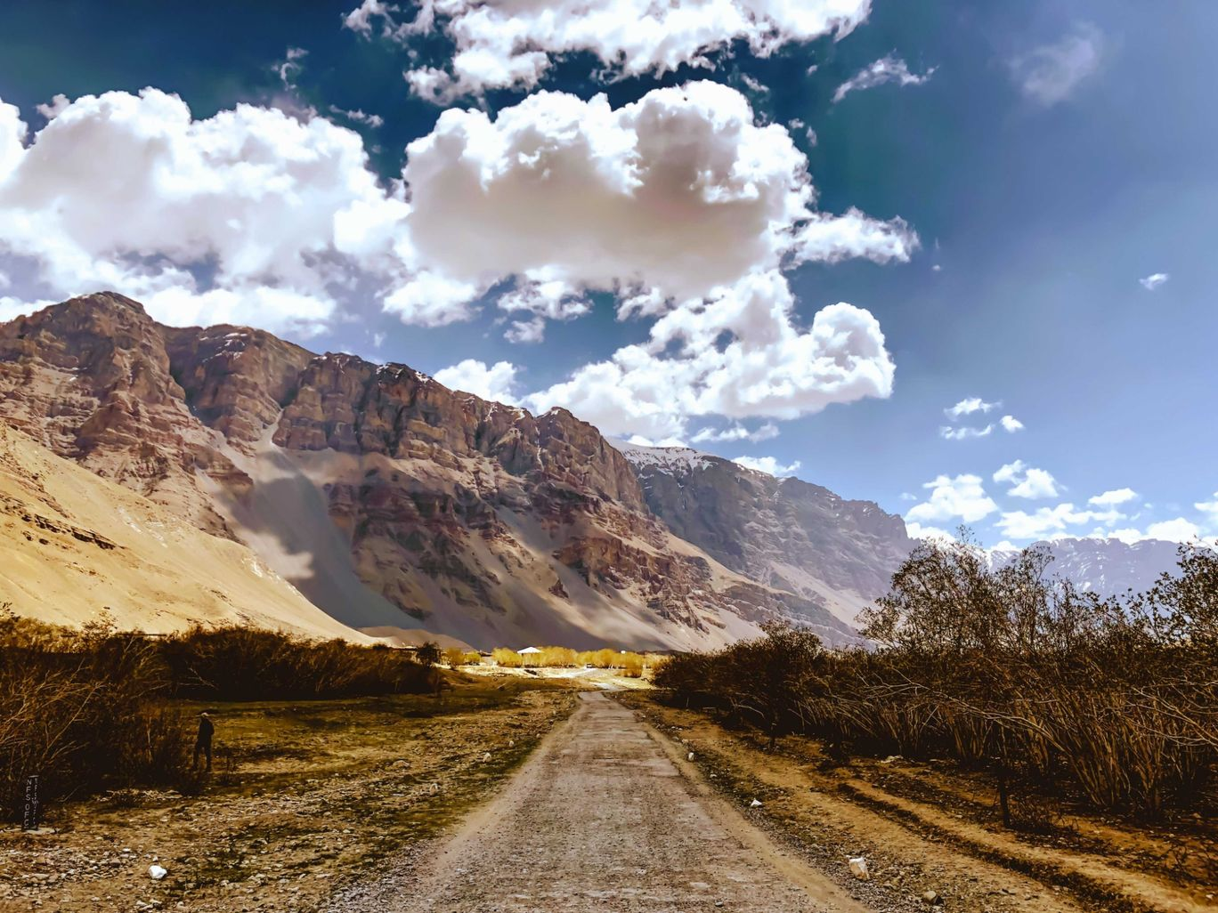 Photo of Gramphu-Batal-Kaza Road By Poojan Desai