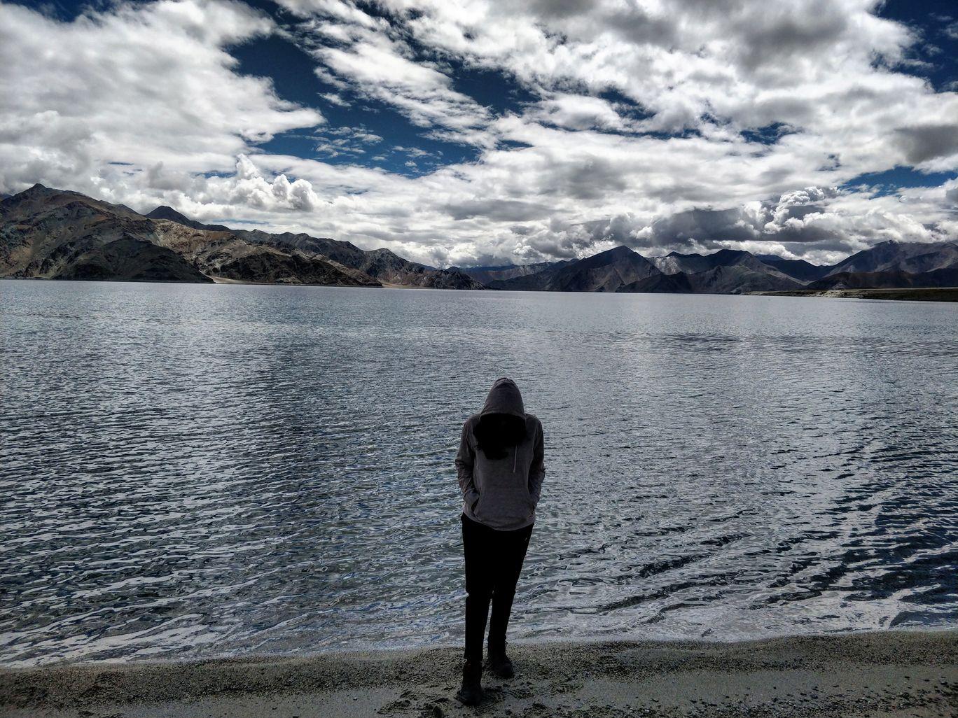Photo of Pangong Lake By Gwyneth Pereira