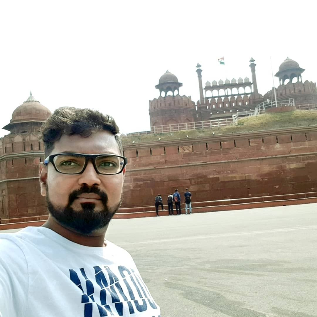 Photo of Red Fort By Sumanth-‼-☮