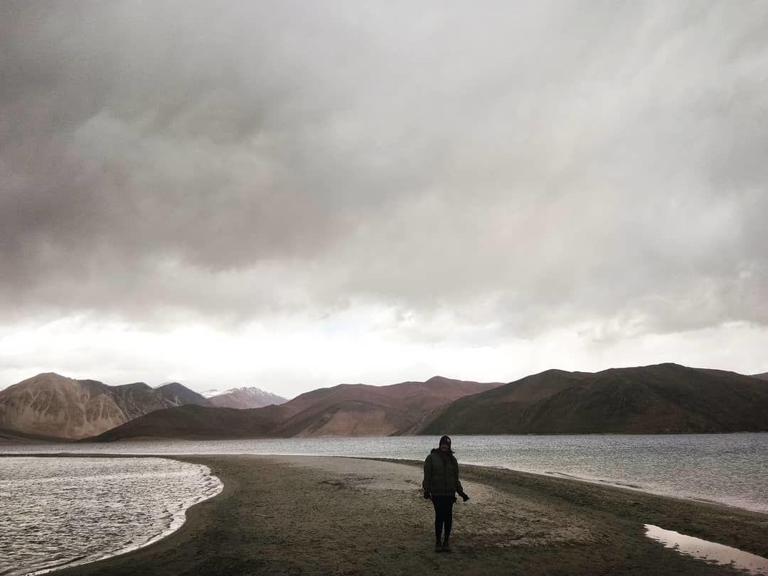 Photo of Pangong Lake By Monica Bhoir