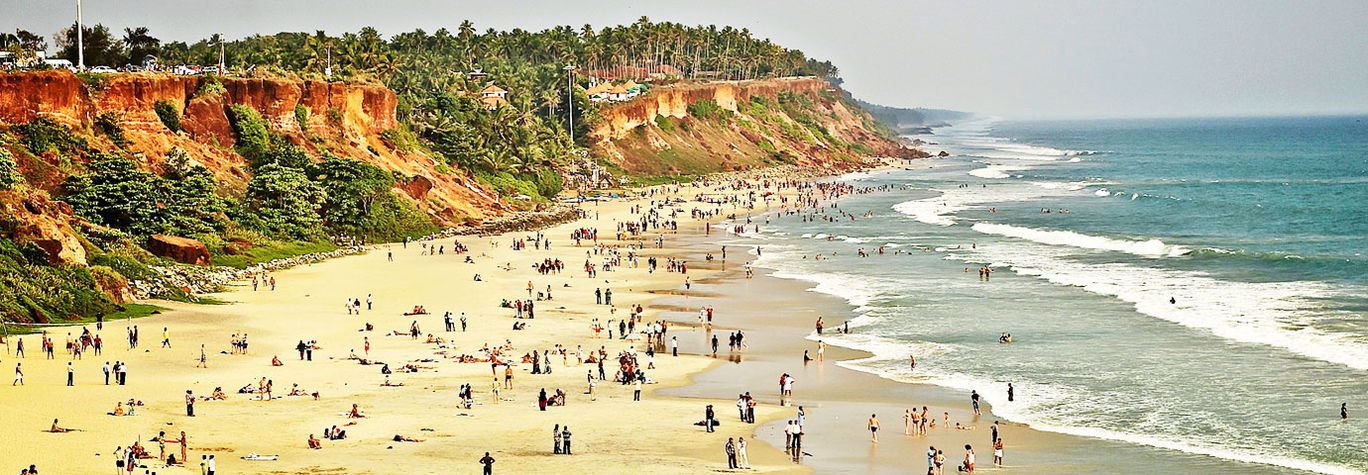 Photo of Varkala cliff By Visakh Ashok