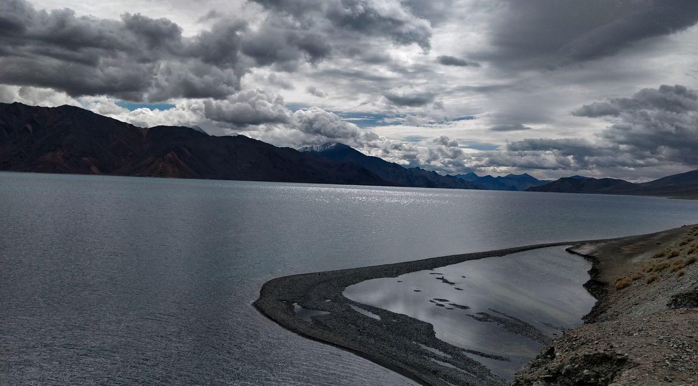 Photo of Pangong Lake By Ashwini Siddharath