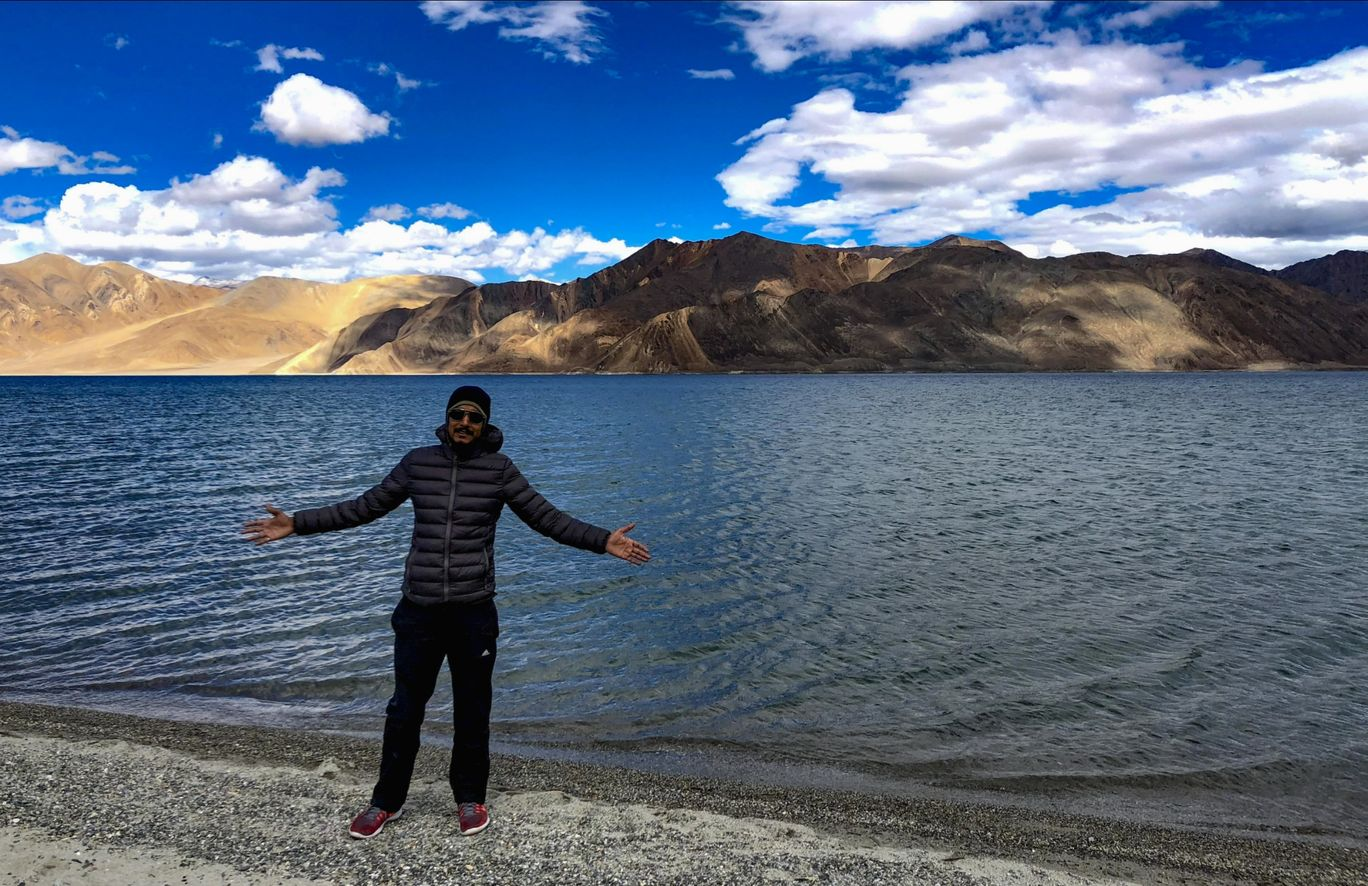 Photo of Pangong Lake By Ashwini Siddharath