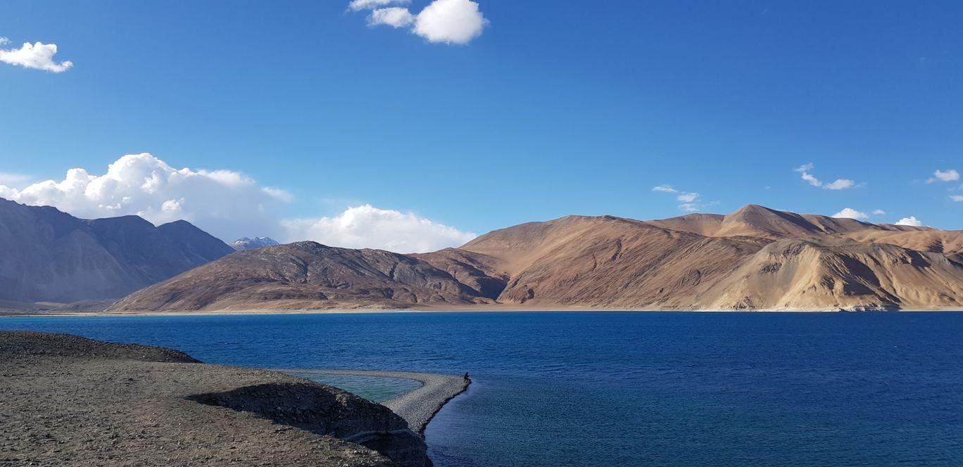 Photo of Pangong Lake By Lavanya Vydyam