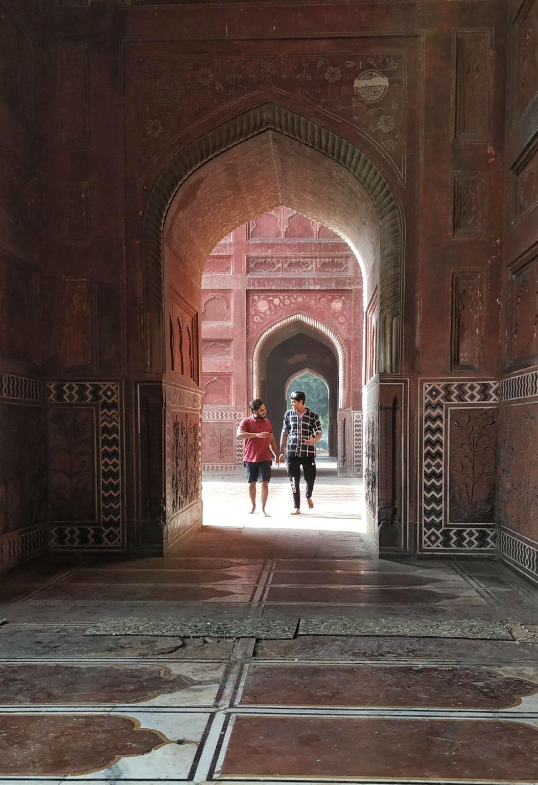 Photo of Taj Mahal By Amber Chauhan