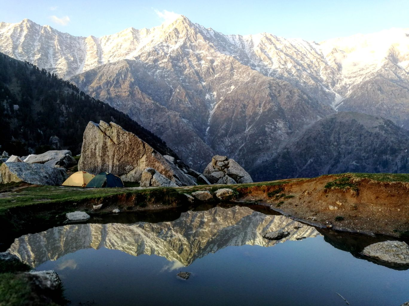 Photo of Triund By Nikhil Khanduja