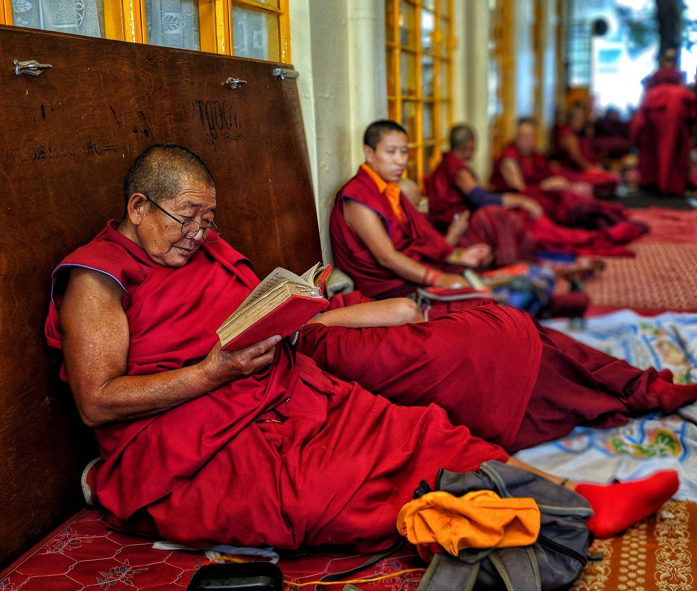 Photo of His Holiness Dalai Lama Main Temple By Sakshi Gandhi