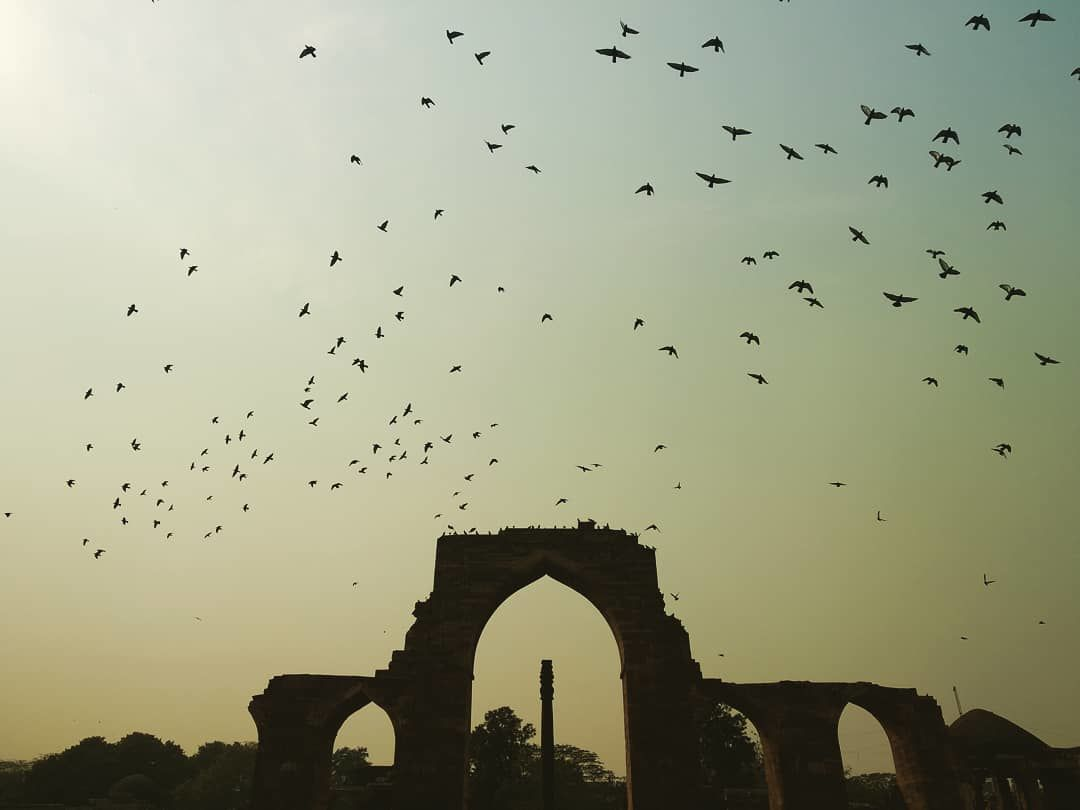 Photo of Qutub Minar By Karan Shukla