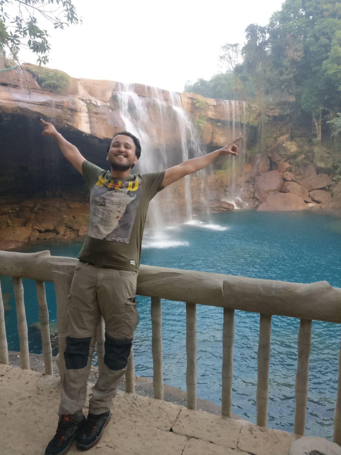 Photo of Krang Shuri Waterfall By Chandan Sharma
