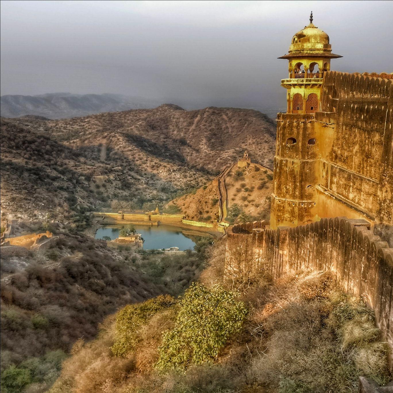 Photo of Amer Fort By Yash Parashar