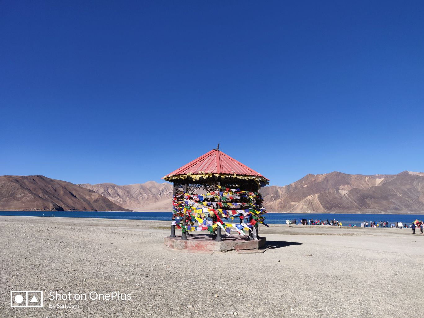 Photo of Pangong Lake By Santoshi Pal