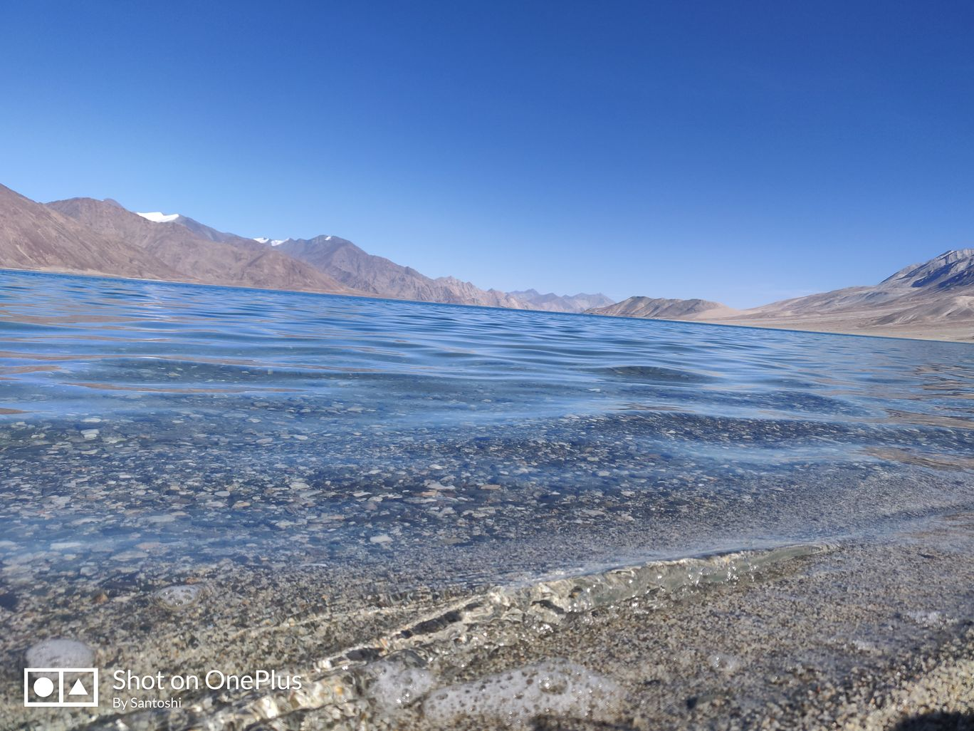 Photo of Pangong Lake By Santoshi Pal