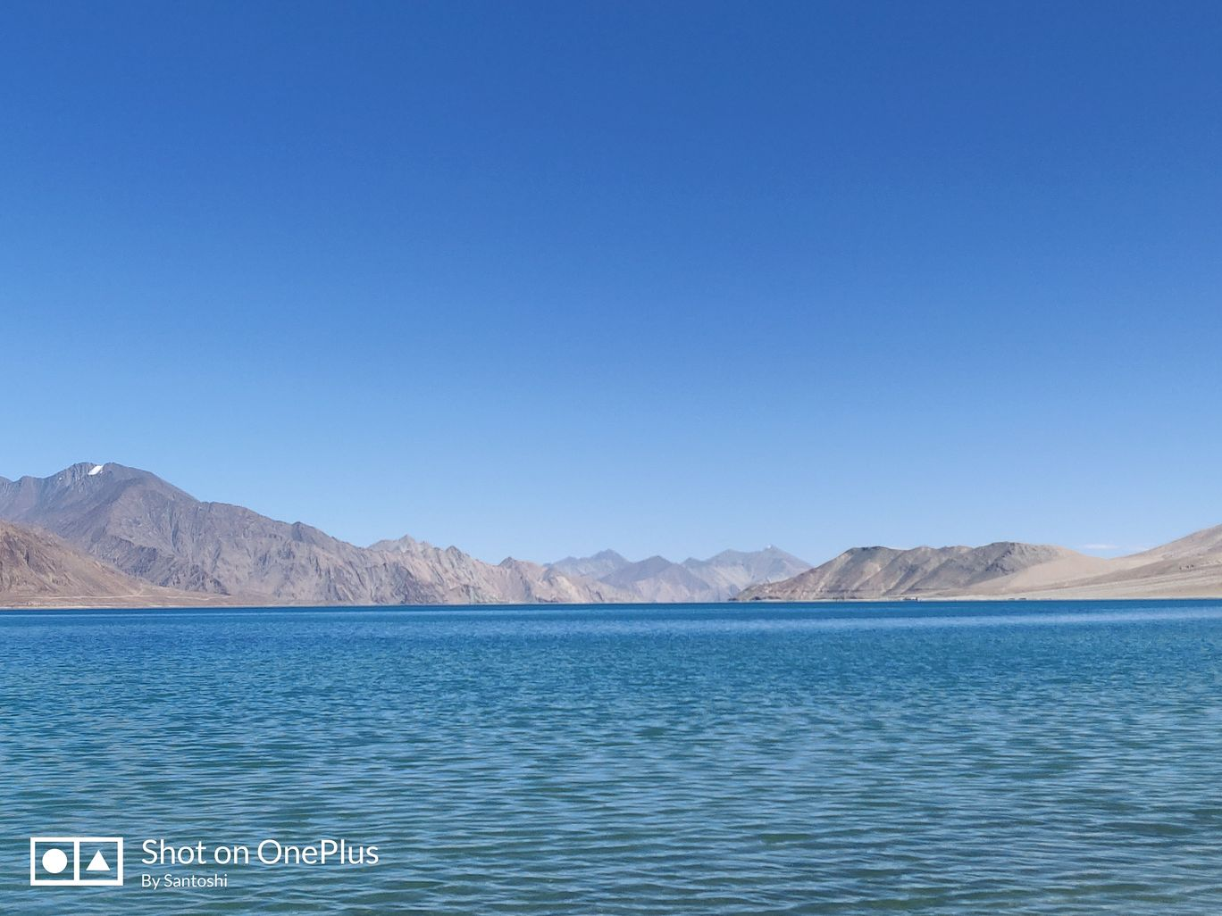 Photo of Pangong Lake Road By Santoshi Pal