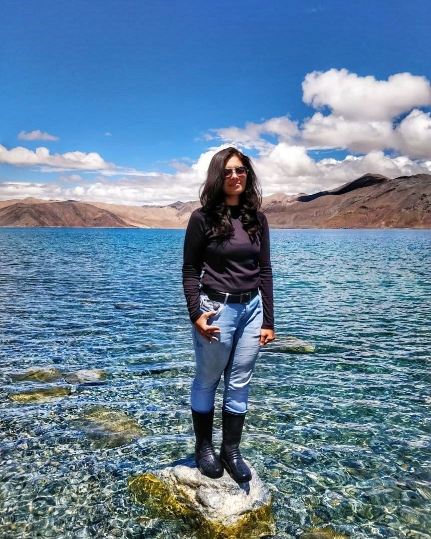 Photo of Pangong Lake By Nupur Joshi