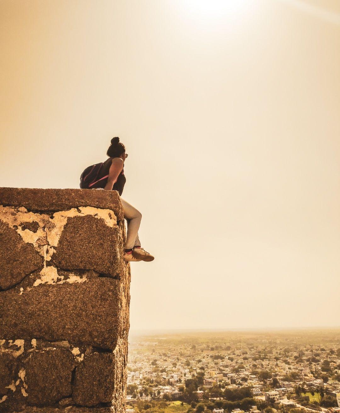 Photo of Bhongir Fort By wee_gypsy_soul
