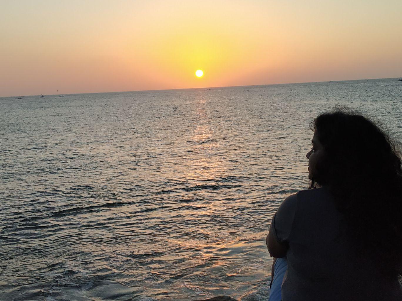 Photo of Kanyakumari Sunrise View By Arpana Kispotta