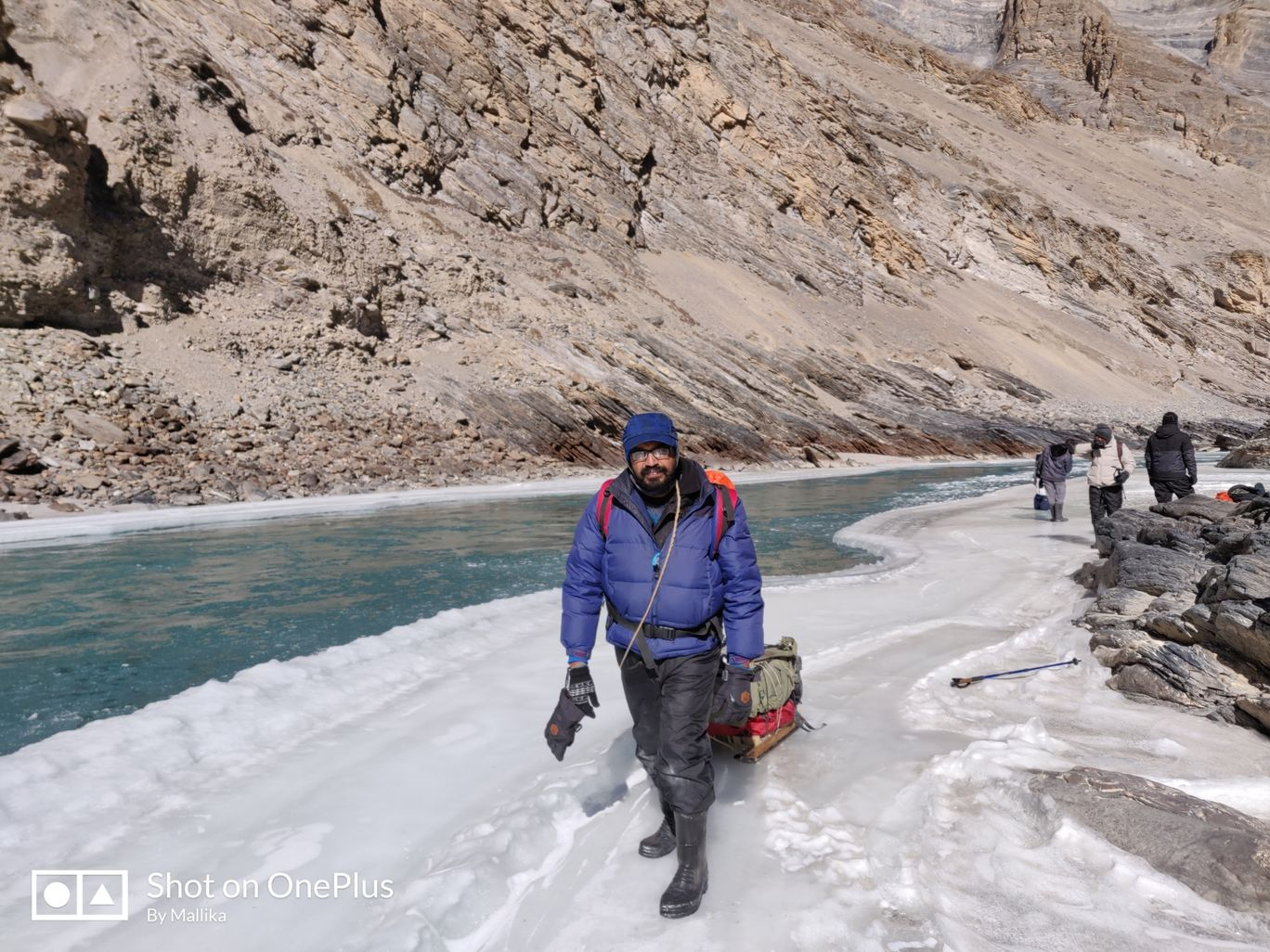 Photo of Chadar trek - Trekking In Ladakh - Frozen River Trekking In Ladakh By Madhu Kumar