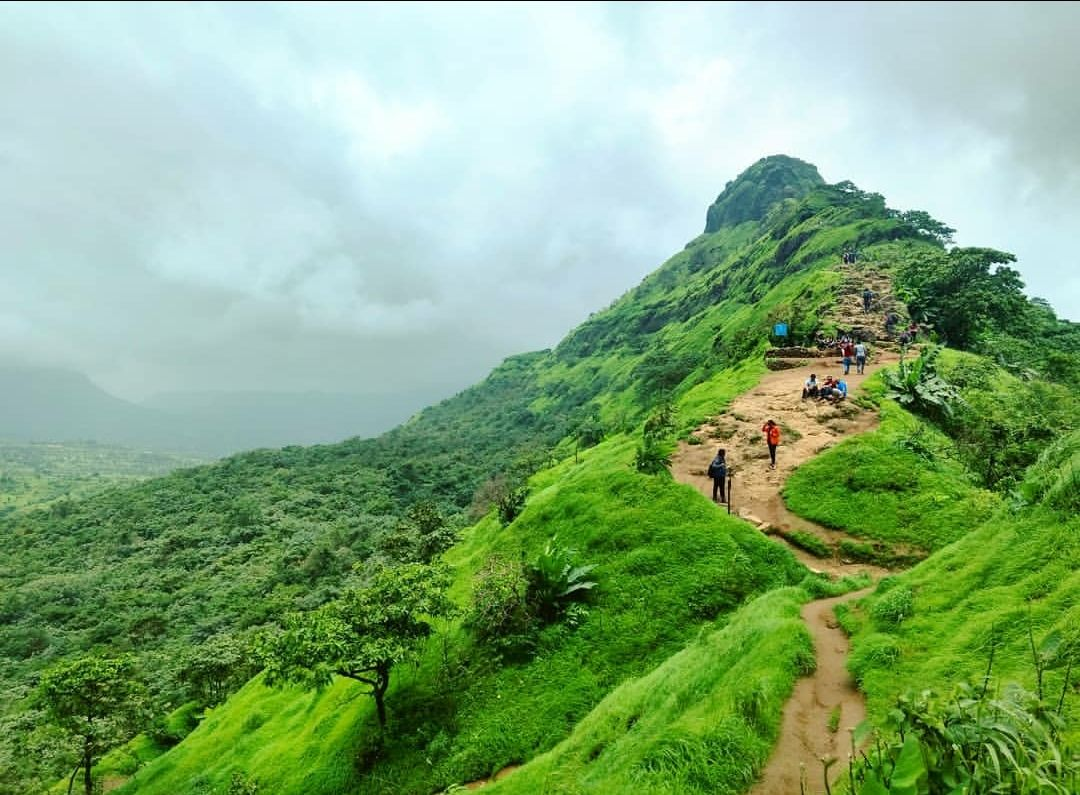 Photo of Tikona fort - Photo blog - Walk to the top By POOJA RAUT