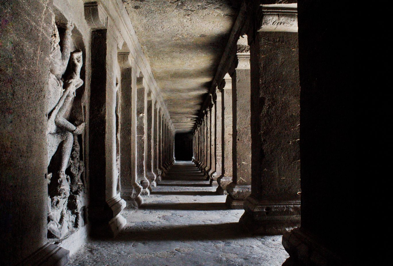 Photo of Ellora Caves By Naveen Gandla