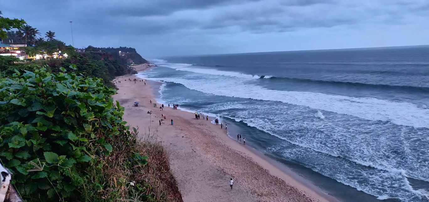 Photo of Varkala Beach By DeVi Anilkumar