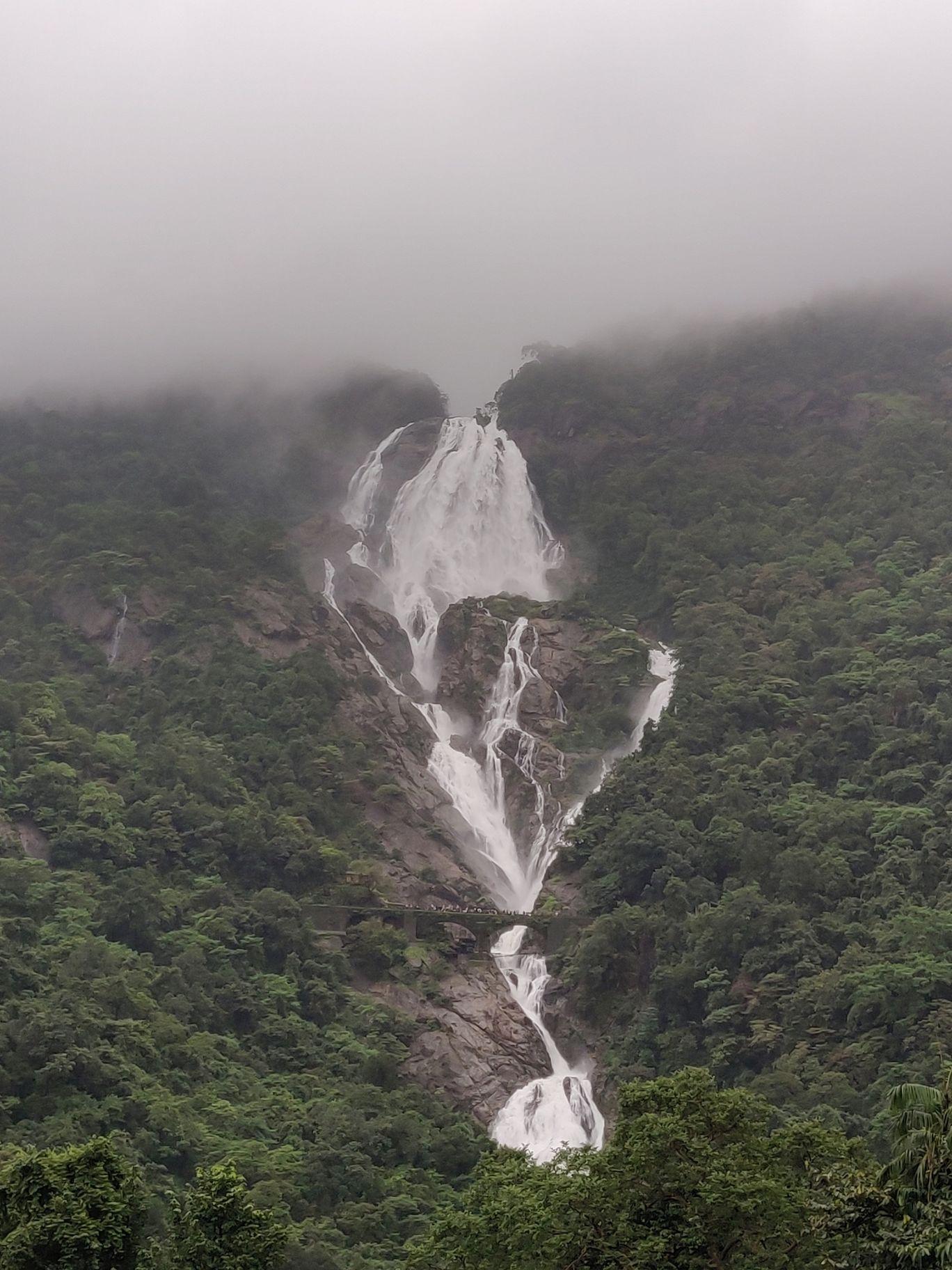 Photo of Dudhsagar Falls By Chandrakanth K