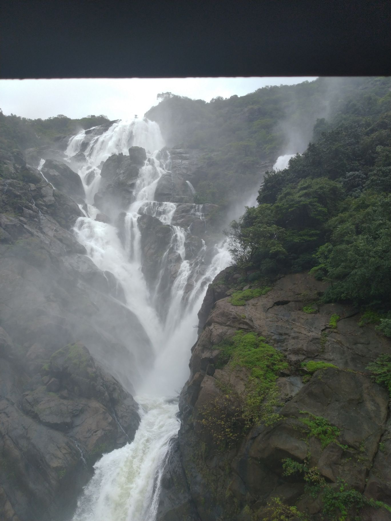 Photo of Dudhsagar Falls By Kathir Vel