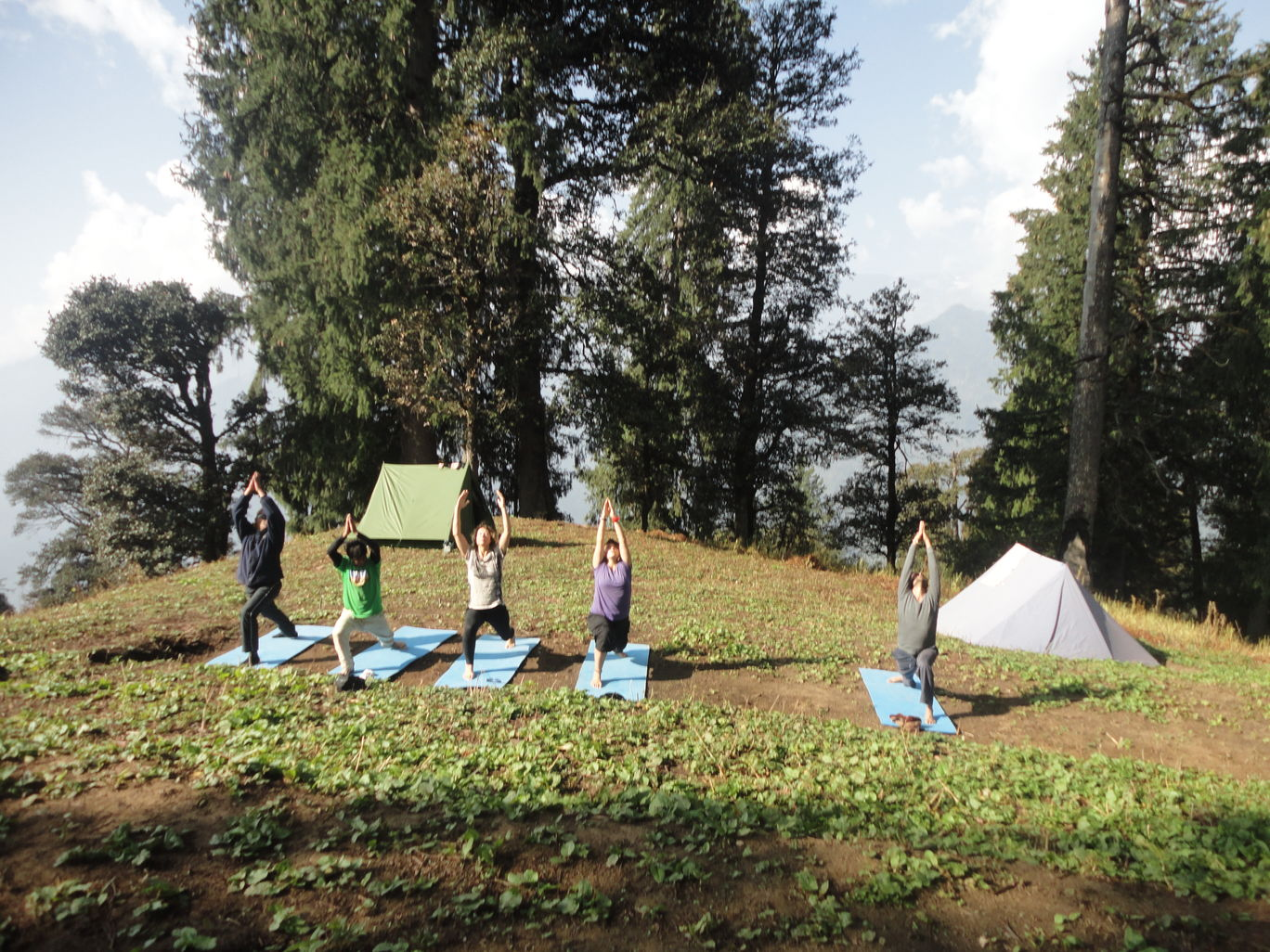 Photo of Yoga and trekking to Bhrigu lake By Himalayan Mountain Sojourns