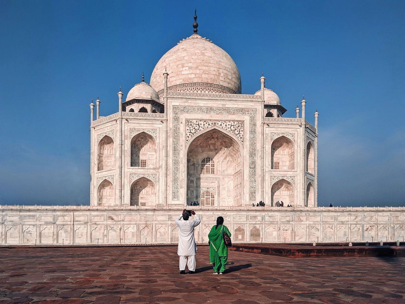 Photo of Taj Mahal By Raj