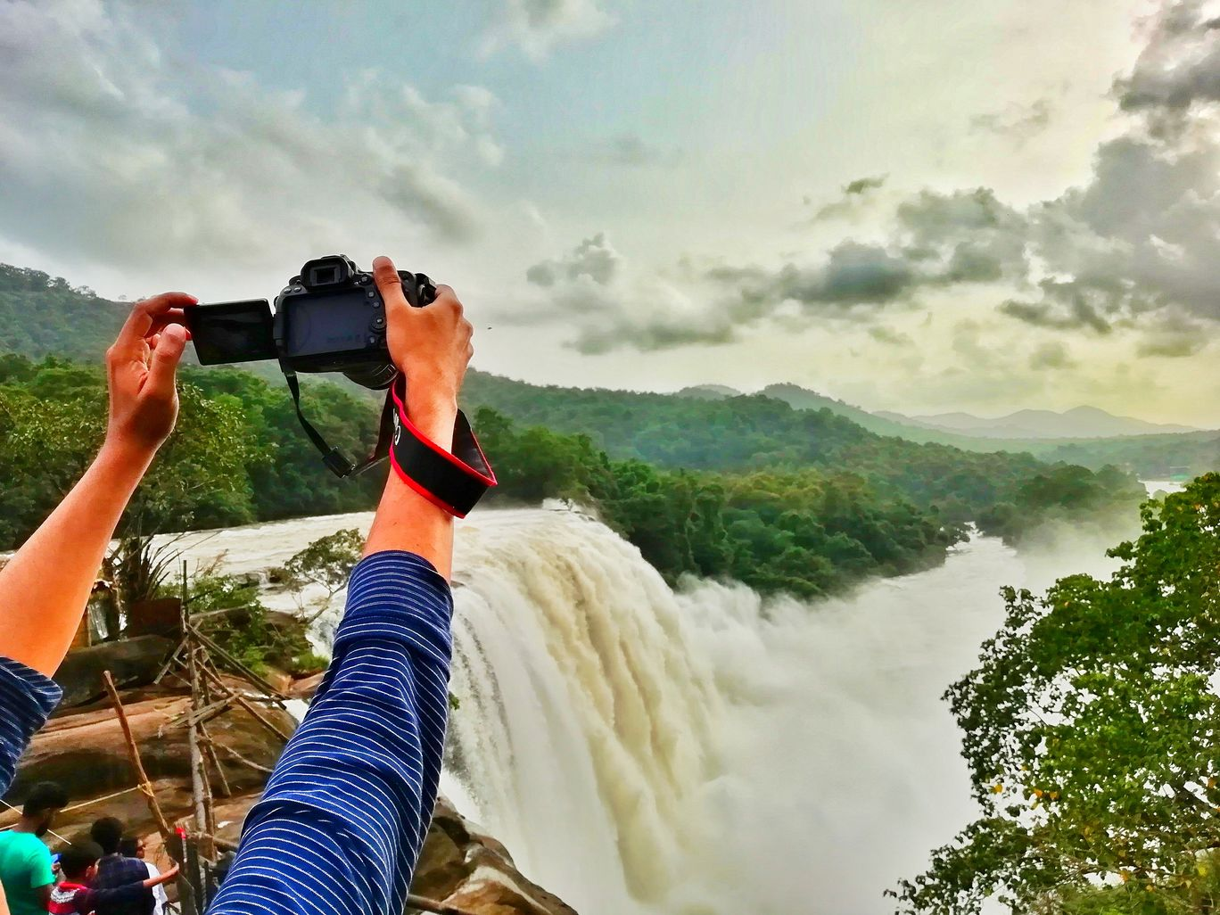Photo of Athirapally Waterfalls By Anand Tr