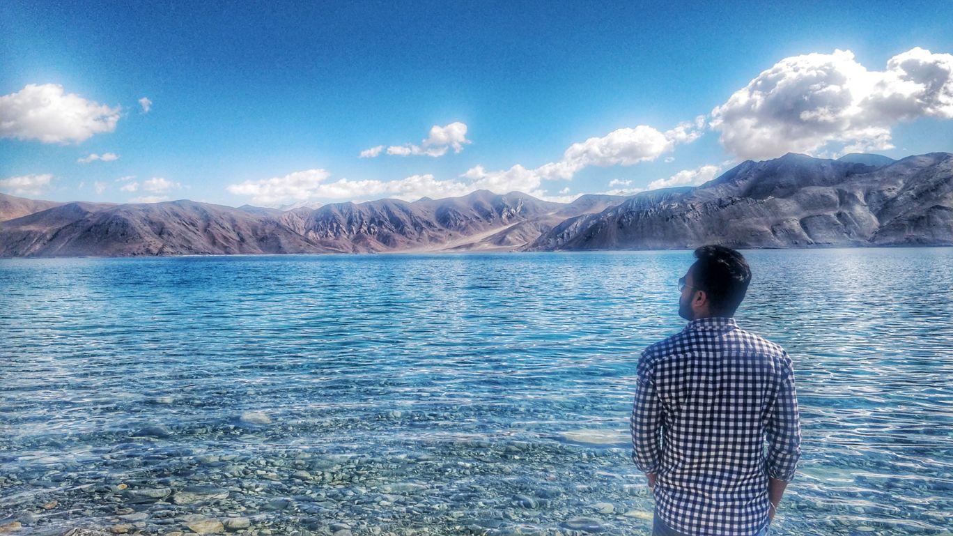 Photo of Pangong Lake By Ankit Chawla