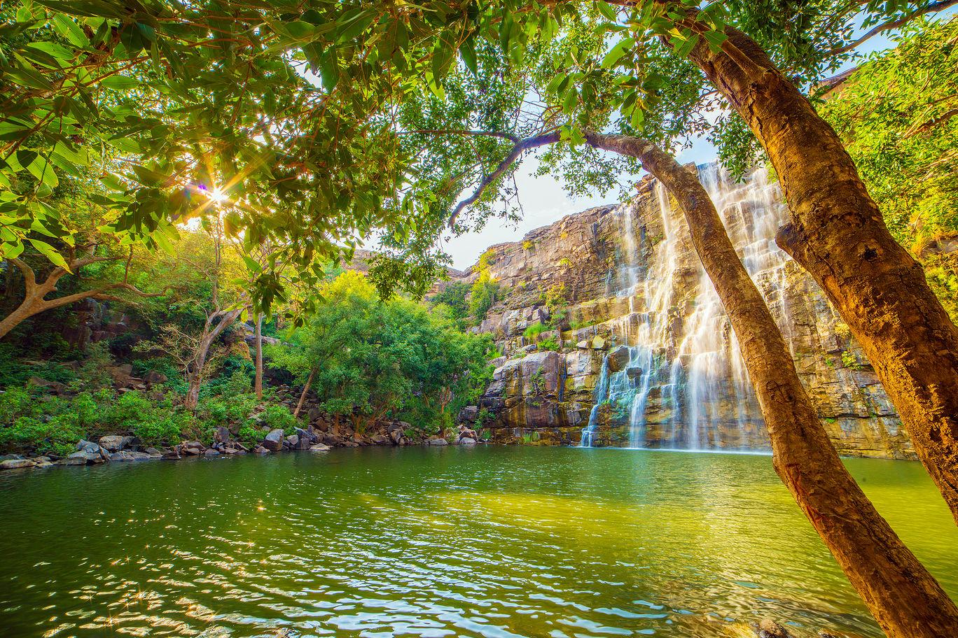 Photo of Bhimlat Mahadev Temple & Waterfall By Akash Kapri