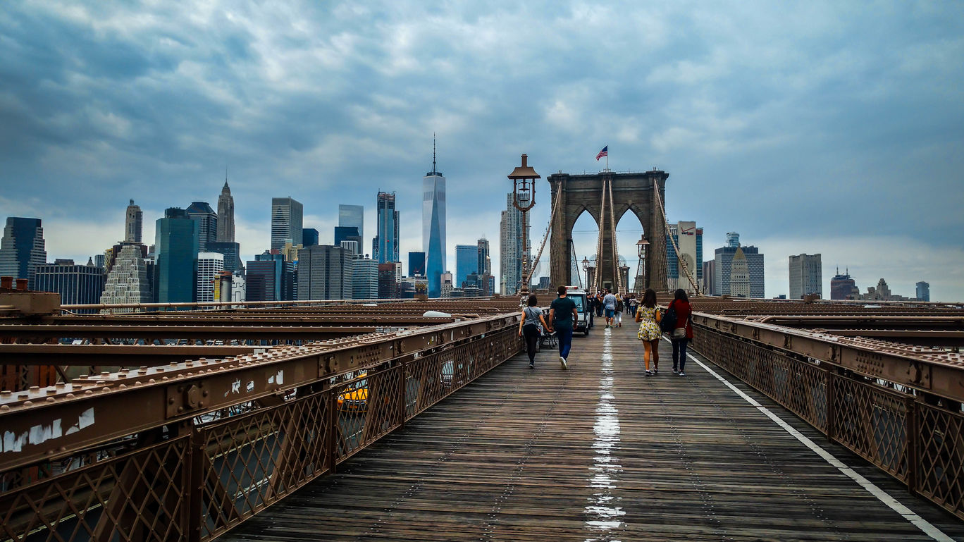 Photo of Brooklyn Bridge By Anant Saria