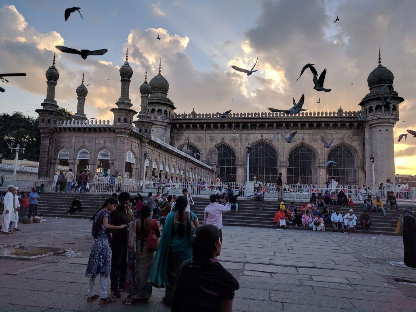 Photo of Mecca Masjid By Shubham Dutt Attri