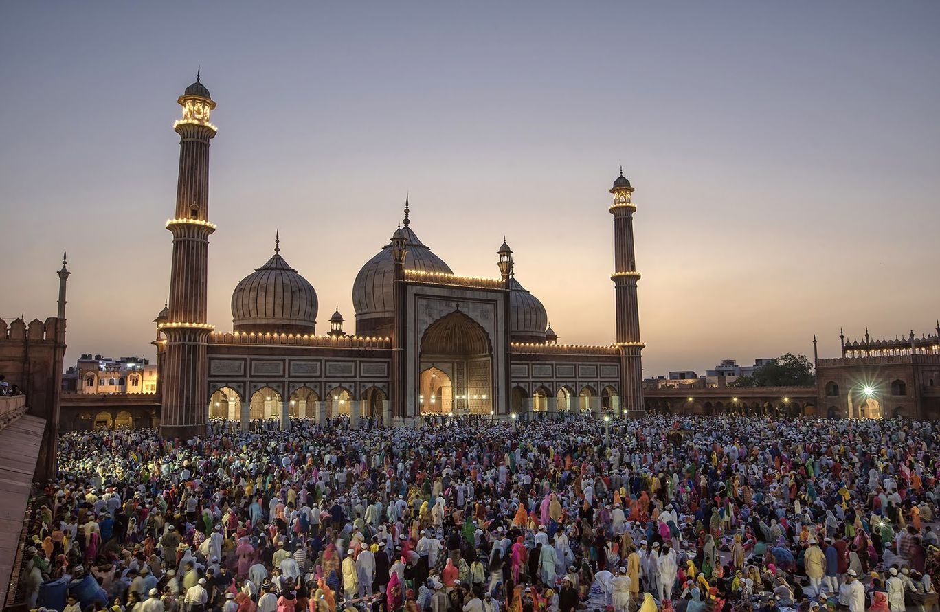 Photo of Ramadan Celebrations At Jama Masjid Are A Sight To Behold! These Stunning Photographs Are Proof By Adete Dahiya