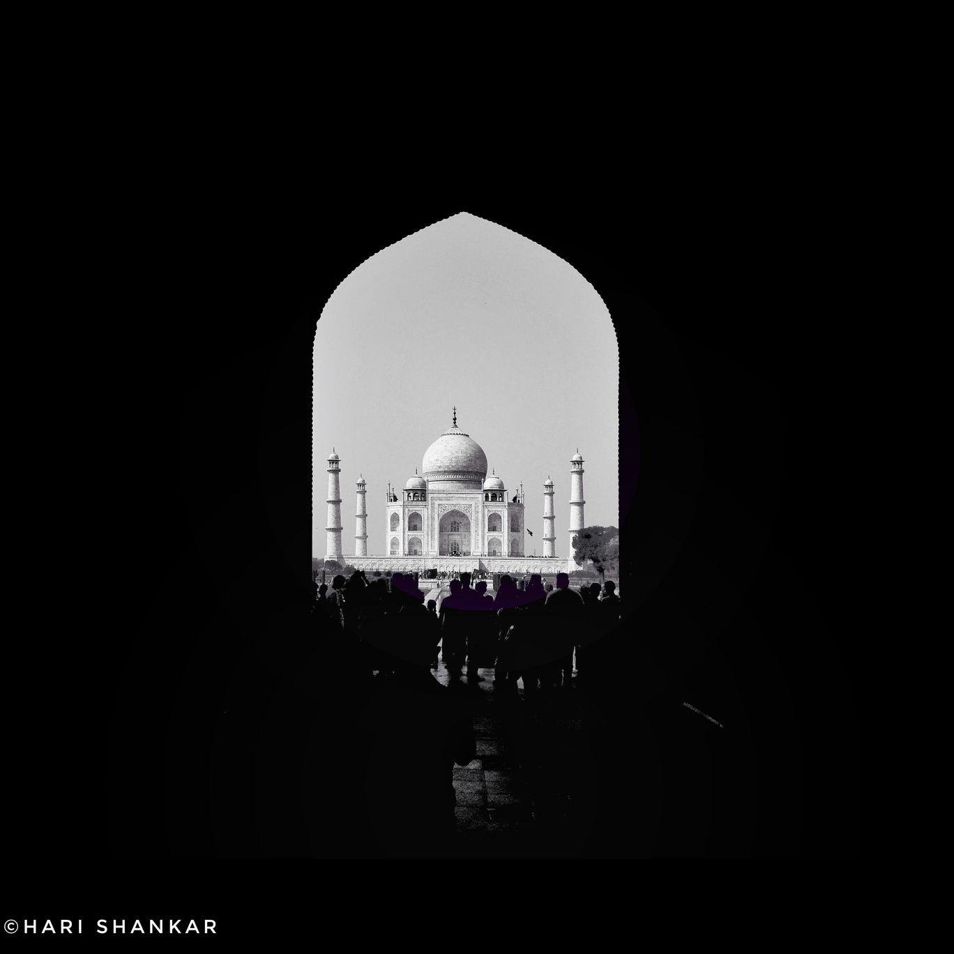 Photo of Tajmahal India By Harishankar S