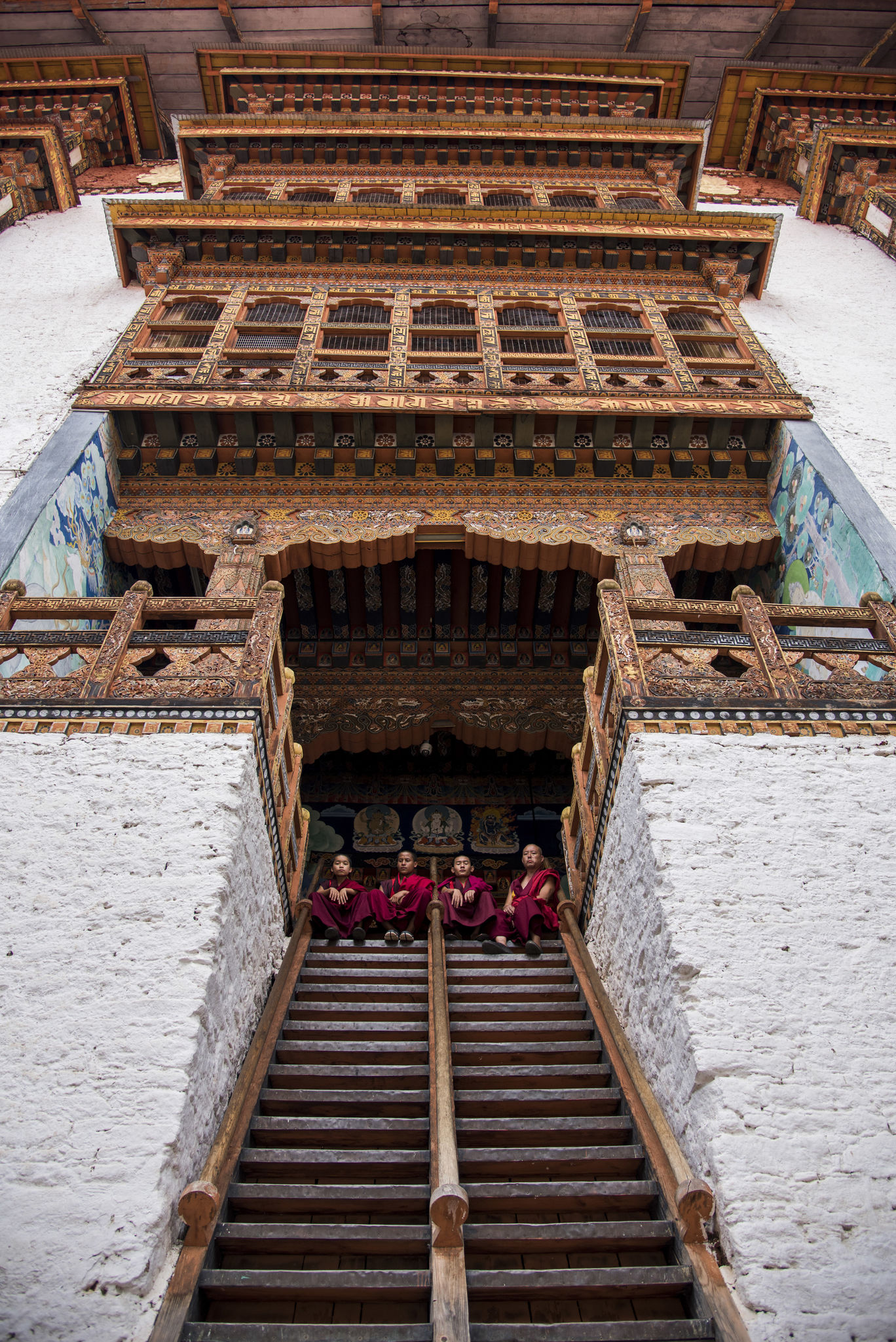 Photo of Punakha Dzong By Anand Subramanian